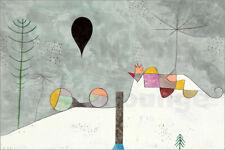 Cuadro de madera Winter Picture - Paul Klee