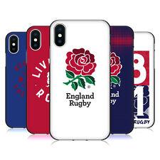 ENGLAND RUGBY UNION 2016/17 LA ROSE COQUE EN GEL NOIR POUR APPLE iPHONE PHONES