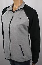 Ralph Lauren Grey Black Full Zip Sweatshirt Track Jacket NWT $115