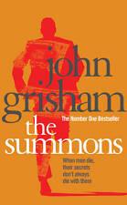 JOHN GRISHAM ___ THE SUMMONS  ___ BRAND NEW __ FREEPOST UK
