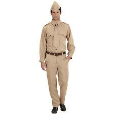 Militär Uniform WW2 Soldaten Kostüm Soldatenuniform Armee Soldatenkostüm Soldat