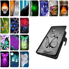 Für Huawei P Smart Tasche Schutzhülle Handy Hülle Flip Case Cover Etui Motiv