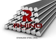 303 STAINLESS STEEL Round Bar Steel Rod Metal Bar Milling Metalworking Welding
