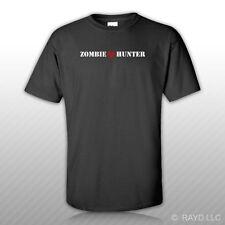 Zombie Hunter T-Shirt Shirt Tee Bonus Sticker S M L XL 2XL 3XL hunting gildan