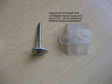 Abstandhalter für Lichtplatten Profil 70/18-76/18 Trapez u. 76/18 Sinus (Welle)