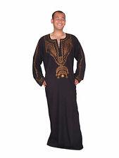 wunderschöner eleganter Moderner Herren Kaftan aus1001 Nacht in schwarz KAM00572