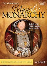 DAVID STARKEY'S MUSIC & MONARCHY, Good DVD, David Starkey, Christopher Walker, P