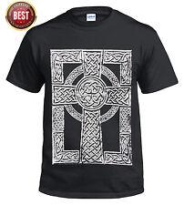 NEW CELTIC CROSS/Viking Thor's Hammer/Tattoo/T shirt/Biker/Tribal/Skull/Top/Tee