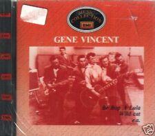 GENE VINCENT BE BOP A LULA WILD CAT CD MUSIC COLLECTION