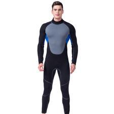 1bae2130728 3mm Men Full Body Wetsuit Jumpsuit Surf Scuba Diving Spearfishing Swim Suit