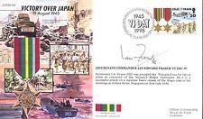 JS50 45/16B WWII WW2 VJ IOM RAF cover signed Fraser VC
