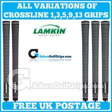 Poignées Golf LAMKIN Crossline-free post-toutes tailles-toutes les couleurs-toute quantité