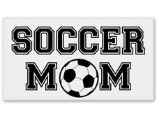 Soccer Mom Car Vinyl Sticker - SELECT SIZE