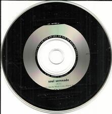 DAVID SANBORN & HIRAM BULLOCK Soul Serenade PROMO DJ CD Single USA 1992 MINT