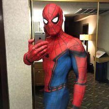 Zentai Amazing Spiderman 2 Adult Costume Tight JumpSuit for Coser Superhero Fan