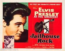 Elvis Presley - Jailhouse Rock 1957 Canvas Wall Art Concert Poster Print Music