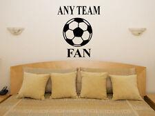 Personalizado Customizado Equipo De Fútbol Infantil Adhesivo para dormitorio