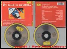 "GIUSEPPE VERDI ""Un Ballo In Maschera"" (2 CD)Karajan1989"