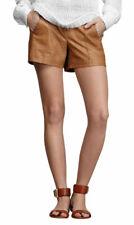 Women Leather Sport Shorts Hot Pants High Waist Club wear Sexy Fashion WSAU008