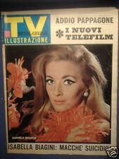 BIAGINI BIANCHI TV SORRISI E CANZONI 8 GENNAIO 1967 N°2