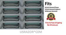 1 4 8 16 32 64 Schick Xtreme3 Razor Blade Fit Wilkinson Subzero Refill Cartridge