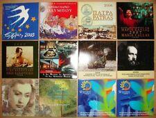 Grece Greece bu commémorative  2003 2005 2006 2007 2008 2009 2010 2011 2012 2014