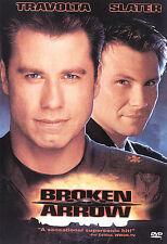 Broken Arrow DVD, Christian Slater, John Travolta,