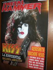 Metal Hammer.KISS,AEROSMITH, MACHINE HEAD, DEVIN TOWSEND, GEOFFE TATE,VOIVOD,sss
