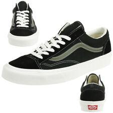 VANS Style 36 Sneaker Skater Unisex canvas/Leder Sneaker Vintage Sport black