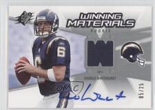 2006 SPx Winning Materials Rookie Signature #WMR-WH Charlie Whitehurst Auto Card