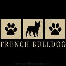 French Bulldog Silhouette T-Shirt - Men, Women, Youth, Tank, Short, Long Sleeve