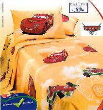 CALEFFI, Disney. Copriletto stampato Panama CARS CORSA Singolo, 1 piazza e mezza