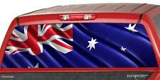AUSTRALIAN FLAG Rear Window Graphic Decal Tint Sticker Truck suv ute glasscape
