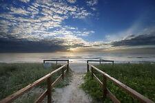 AUSTRALIA  Beach sunrise sunset seascape ocean print photo art