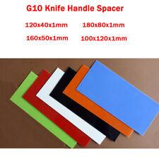 2PCS G10 Knife Handle Spacer Liner Material Sword Knives DIY Making Supplies