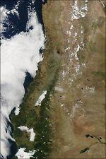 Poster, Many Sizes; Haze Over Santiago Following 8.8 Earthquake.Gif_Files