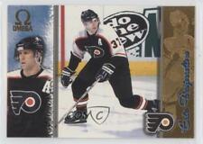 1997-98 Pacific Omega Gold #162 Eric Desjardins Philadelphia Flyers Hockey Card