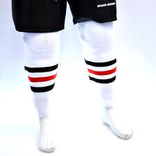 NHL Hockey Socks - Chicago Blackhawks White, ice hockey socks