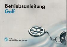 VW   GOLF  3   Betriebsanleitung  1994 Bedienungsanleitung Handbuch Bordbuch BA