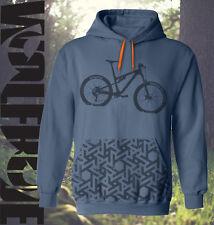 MTB - Mountain bike hoodie - hooded top, down hill, hoody  - xmas, gift, present