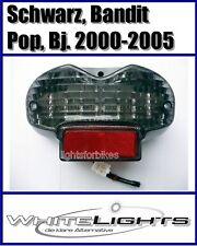 lumière arrière LED Feu noir Suzuki GSF 600 1200 Bandit Pop WVA8 WVA9