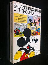 Disney - GLI ANNI RUGGENTI DI TOPOLINO , Oscar 206 1a Ed (1969)