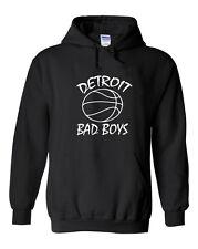 """Detroit Pistons """"Bad Boys""""  Hooded SWEATSHIRT Hoodie"""