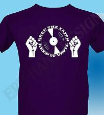 Vinyl Junkie T-Shirt Northern Soul Music Original Design Keep The Faith DJ 70'S