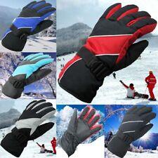 Full Finger Ski Cycling Gloves Snowboard Motorcycle Waterproof Double Mitten