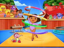 Dora the Explorer Gymnastics Cartoon Beautiful Kids HUGE GIANT PRINT POSTER