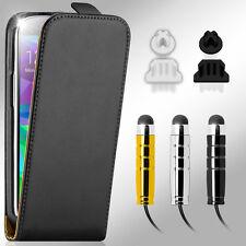 Handy Tasche für Samsung Galaxy Schutz Hülle Flip Case Cover Etui Set 8in1