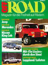 Off Road 4 86 Fiat Panda Jeep Wrangler Mercedes 300 TE 4MATIC Erhard Keller 1986