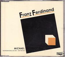 FRANZ FERDINAND michael CD single PROMO 1 track