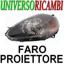 FARO/PROIETT. DX H4 EL.C/MO.FIAT GRANDE PUNTO 05-08 NER